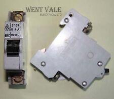 BBC/Stotz/Wylex - S181 4a Type K Single Pole MCB Used