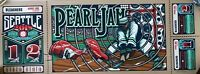 Pearl Jam Seattle 2018 Home Shows AP Poster Art Print Brad Klausen Eddie Vedder