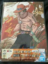 One Piece Portgas D. Ace & Tama Clear File Set of 2 Ichiban Kuji Wano