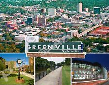 North Carolina - Greenville - Travel Souvenir Flexible Fridge Magnet