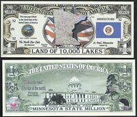 Dr Jekyll /& Mr Hyde Million Dollar Bill Funny Money Novelty Note FREE SLEEVE