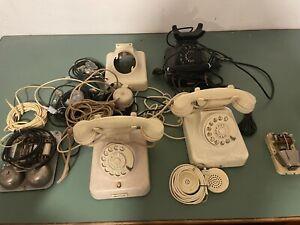 w49 Telefon w48 Telephone Bakelit Post Antik  Vintage Deko Bastler