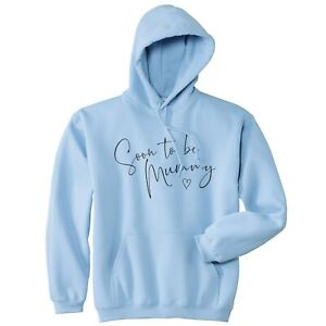 Soon To Be Mummy Hoodie Hoody Perfect Gift For Baby Shower Pregnancy Reveal Mum