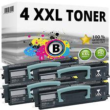 4x XXL TONER Patronen für LEXMARK X203N X204N Toner-Kartusche Toner-Kassette