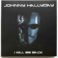 "JOHNNY HALLYDAY : ""I Will Be Back"" (Nimes 2016) (RARE 2 CD)"