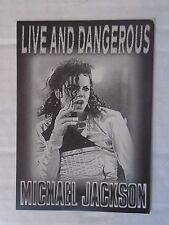 Michael Jackson Dangerous Tour - Israeli Card