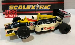 Scalextric C369 Williams FW11 #5 F1 1985 Canon Nigel Mansell Unboxed