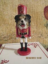 Australian Shepherd ~ Nutcracker Dog Soldier Ornament #53