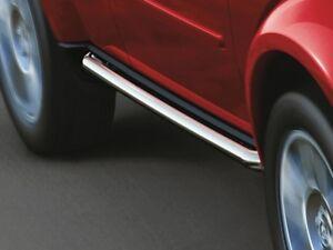 07-11 Dodge Nitro New Polished Stainless Steel Tubular Side Rails Steps Mopar Oe