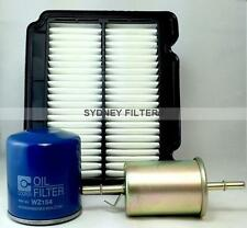 HOLDEN BARINA TK 1.6L / DAEWOO KALOS 1.5L AIR OIL FUEL FILTER KIT (Z154, A1521)