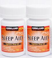 Kirkland Sleep Aid (Doxylamine succinate) 25 mg 192 Tablets, Expiration 03/2019