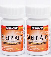 Kirkland Sleep Aid (Doxylamine succinate) 25 mg 192 Tablets, Expiration 09/2019