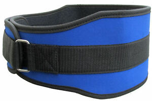 """6"""" Nylon Weight Lifting Belt for Excercise & Fitness Gym *Fitness Gym Belt*"""