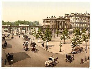 2 Victorian Views London Hyde Park Corner, Kensington Gardens Repro Old Photos