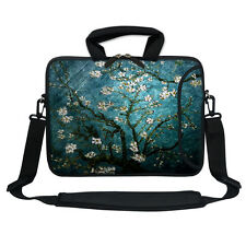 "13.3"" Neoprene Laptop Bag Case Sleeve w. Pocket Handle & Carrying Strap 3005"