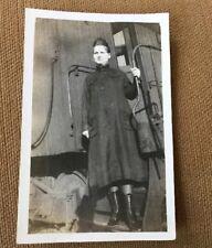 BIRMINGHAM ALABAMA LOLLARS RAILROAD TRAIN YOUNG WOMAN PHOTO