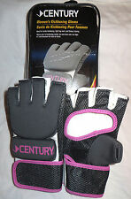 $45 Century Women's Kickboxing MMA Bag Gloves! Ladies Training Workout Med Large