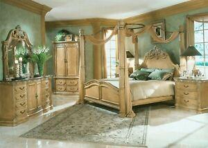 Aico Michael AMINI Cal King Bedroom Set 4 Pcs