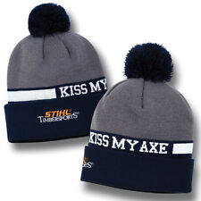 Officially licensed Stihl Timbersports KISS MY AXE Knit Cap