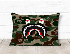 Bape Face By Bulbasaurboi Pillow Case