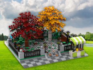 MOC Instructions Modular Park Building