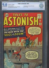 TALES TO ASTONISH #42 CBCS VF/NM 9.0; OW; Kirby Ant-Man cover; Ditko art!