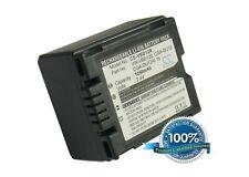 7.4 V Batteria per PANASONIC NV-GS120B, NV-GS50V, HITACHI dz-gx3000 Series, pv-gs5