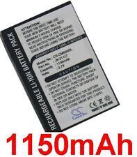 Batterie 1150mAh Pour CASIO Cassiopeia EM500BU