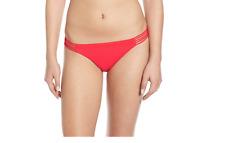 Billabong Women's Sol Search Tropic Bikini Bottom Red Hot 4130 Sz M