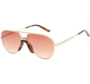 GUCCI Gold Pilot/Aviator Sunglasses - Made In Japan