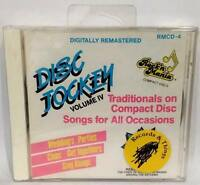 DISC JOCKEY Vol. IV Rock 'n Mania Traditionals on CD - NEW/Factory Sealed
