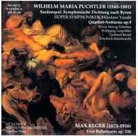 CD Wilhelm Maria Puchtler (1848-1881) - Max Reger (1873-1916)