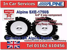 """Alpine SXE-1750S 6-1/2"""" (16.5cm) 280W Kit de altavoces de componente 2-Way Coche Par"""