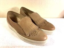 IGI &CO Womens Light brown Leather Loafer Slip On Shoes Size 40 Made in Italy