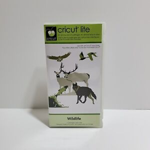 Provo Craft Cricut Lite Wildlife Animals Cartridge 2000165 New Sealed Cartridge