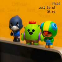 Official Line Friends x Brawl Stars Monitor Figure 100% Authentic+Free Tracking