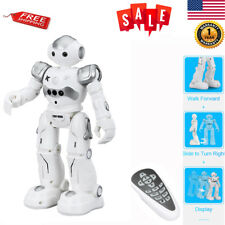 RC Remote Control Robot Smart Action Dance Walking Lights Sound Kids Toy Gery US