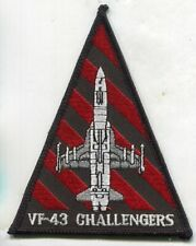 USN VF-43 CHALLENGERS F-21 KFIR aircraft patch ADVERSARY FIGHTER SQN