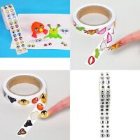 500 Stickers Eyes Coloured Or Black Also 600 Nose or Mouth Stickers Decal Kids