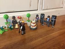 Playmobil Lot Wedding Set And Band 30+ Pieces