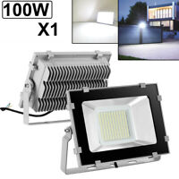 100W LED Flood Light VIUGREUM Cool White Outdoor Spotlight Garden Yard Lamp