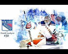 Hockey Rangers Henrik Poster Wall Decoration High Quality 16x20