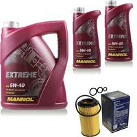 Ölwechsel Set 7L MANNOL Extreme 5W-40 Motoröl + SCT Filter KIT 10196194