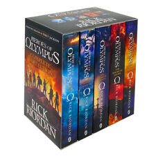 Heroes of Olympus 5 Books Collection Box Set By Rick Riordan Blood of Olympus
