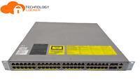 CISCO Catalyst WS-C4948E V01 48 Ports L3 Gigabit Switch 4 SFP+ Ports