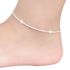 Barefoot Sandal Beach Foot Jewelry Silver Hemp Rope Women Chain Ankle Bracelet