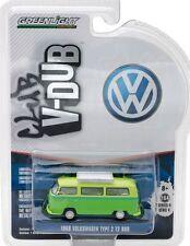 `68 VW T2 Bus + Roof Rack  Volkswagen 1968 *** Greenlight 1:64 NEU+OVP