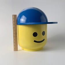 Vintage One Of A Kind Life Size Boy Lego Head With Blue Ball Cap