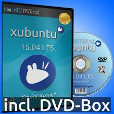 Xubuntu 16.04 LTS DVD Linux Betriebssystem Markenware