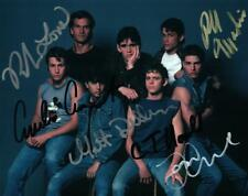 The Outsiders Tom Cruise Macchio Lowe +3 signed 8x10 Photo Picture autographed